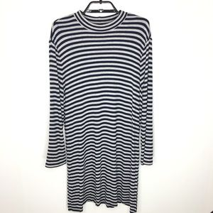 Zenergy by Chicos Striped Tunic Shirt S 3 (XL/16)